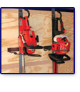 HEDGE TRIMMER RACK
