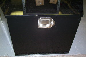 TRAILER TONGUE STEEL TOOL BOX