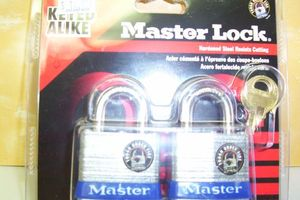 KEYED ALIKE MASTER LOCK